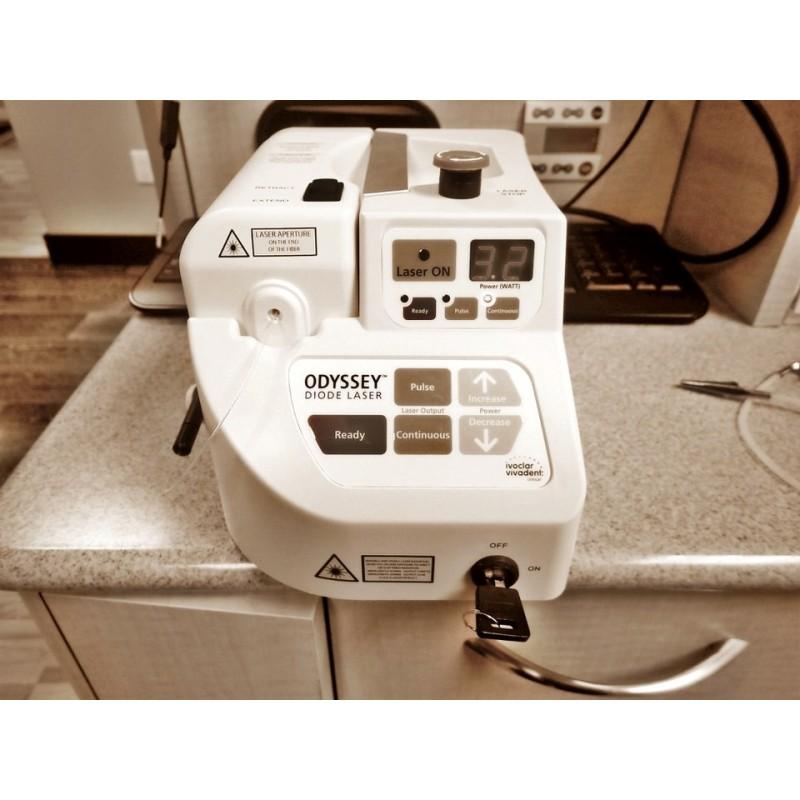 odyssey diode soft tissue dental laser for sale