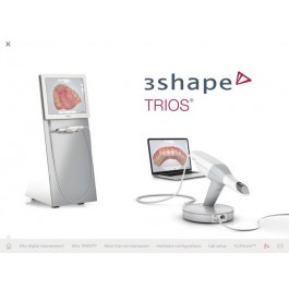 3Shape TRIOS Digital Impression Scanner with Cart and Pod